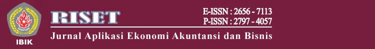 Jurnal Riset Ekonomi Akuntansi dan Bisnis STIE Kesatuan